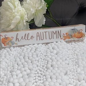 🚨3for$10 Hello AUTUMN 🍂 Sign
